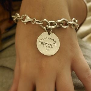Tiffany & Co Sterling Silver Return to Bracelet